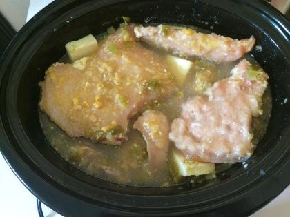 corn chowder pre-cook