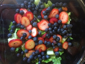 Fruit in salad