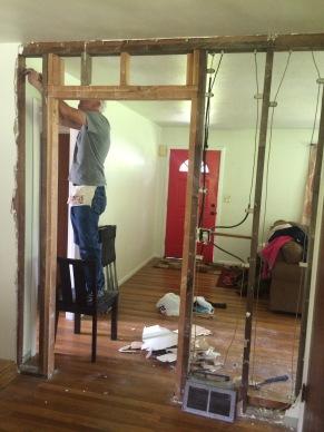Darryl opening doorway.JPG